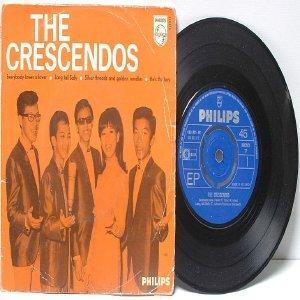 "ASIAN 60's POP BEAT BAND the Crecendos 7"" PS EP"