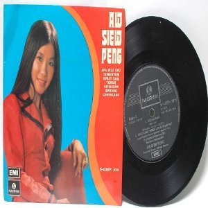 "Malay 70s Pop AW SIEW PEMH Kau Tersenyum 7"" PS EP"