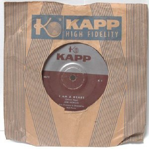 "JANE MORGAN I Am A Heart INTERNATIONAL KAPP 7"" 45 RPM"