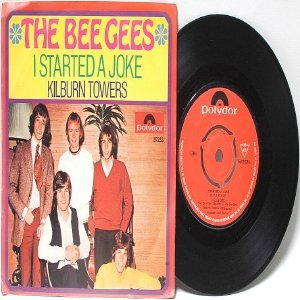 "THE BEE GEES I Started A Joke GEMANY POLYDOR 7"" 45 RPM PS"