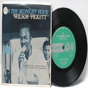 "WILSON PICKETT in The Midnight Hour ATLANTIC AUSTRALIA Aussie  7"" 45 RPM PS EP"