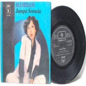 """Malay 70s Pop HAMIDAH Jumpa Semula  7"""" PS EP"""
