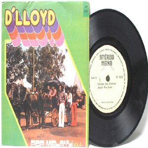 "Malay 70s Pop Band  D'LLOYD Pop Melayu vol 4 7"" PS EP"