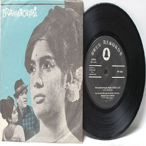 "BOLLYWOOD INDIAN Brahmacari MOHD RAFI  7"" 45 RPM EP"