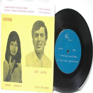 "ERNIE DJOHAN vs TOM JONES Malaysia ASIA  7"" 45 RPM PS EP"