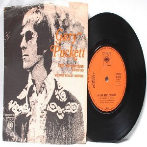 "GARY PUCKETT keep the Customer Satisfied CBS MALAYSIA  7"" 45 RPM PS"