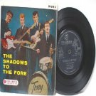 "SHADOWS To The Fore COLUMBIA SINGAPORE  Apache 7"" 45 RPM PS EP Mono"