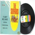 "THE SURFARIS It Aint Me Babe  BOB DYLAN Rolling Stones LIFE INTERNATIONAL  7"" 45 RPM PS EP"