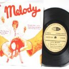 "BEE GEEES Melody Fair CSNY  Malaysia ASIA 7"" 45 RPM PS EP"