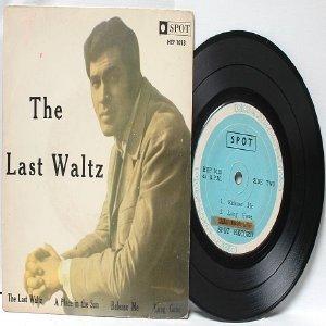 """ENGLEBERT HUMPERDINCK The Last Waltz SPOT Malaysia 7"""" 45 RPM PS EP"""