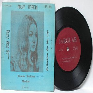 "MARY HOPKIN vs THE MARMALADE Malaysia ASIA 7"" 45 RPM PS EP"