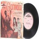 """BOLLYWOOD INDIAN  Ganwaar MAHENDRA KAPOOR  7"""" 45 RPM EP"""