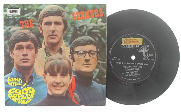 "THE SEEKERS Good Apples Fall SINGAPORE ASIA 7"" PS EP"