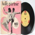 "BOLLYWOOD INDIAN  Hallo Partner T.M. SOUNDARARAJAN L. R. Eswari  7"" 45 RPM EP"