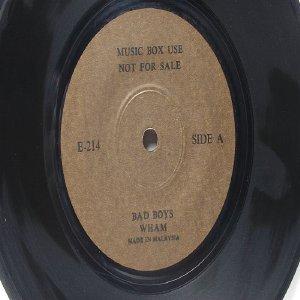 "DAVID BOWIE  Vs WHAM! Bad Boys  MALAYSIA Jukebox Promo 7 "" 45 RPM"