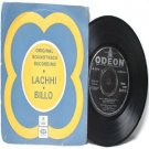 "BOLLYWOOD INDIAN  Lachhi Billo LATA MANGESHKAR EMI    7"" 45 RPM EP"