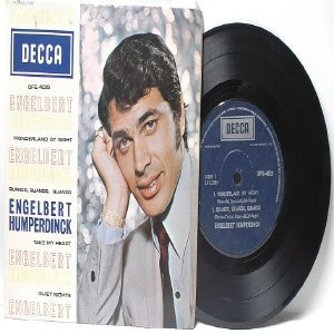 "ENGLEBERT HUMPERDINCK Wonderful By Night DECCA ASIA 7"" 45 RPM PS EP"