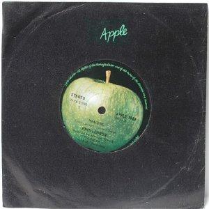 """JOHN LENNON Imagine INTERNATIONAL Apple  7"""" 45 RPM"""