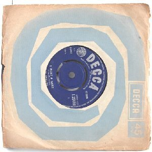 "LOS BRAVOS Black is Black ENGLAND Decca  7"" 45 RPM"