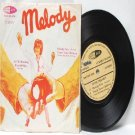"""BEE GEES vs CSNY Melody Fair MALAYSIA  ASIA 7"""" 45 RPM PS EP"""