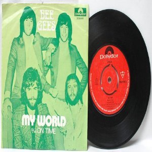 "BEE GEES My Word POLYDOR ASIA 7"" 45 RPM PS"
