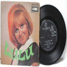 """LULU to Sir With Love SINGAPORE  ASIA 7"""" 45 RPM PS EP"""