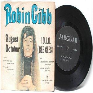 "BEE GEES Robin Gibb MARY HOPKIN I.O.I.O. MALAYSIA  ASIA 7"" 45 RPM PS EP"