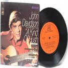 "JOHN DAVIDSON A Kind Of Hush  7"" 45 RPM PS"