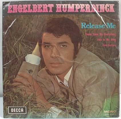 """ENGLEBERT HUMPERDINCK Malaysia 7"""" 45 Rpm EP MONO"""