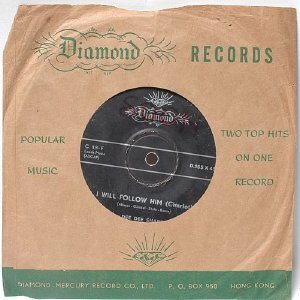 "DEE DEE SHARP He's So Fine DIAMOND International 7"" 45 RPM"