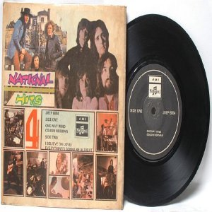 """BEATLES Get Back Sessions Cover  ASIA  Malaysia 7"""" 45 RPM PS EP"""