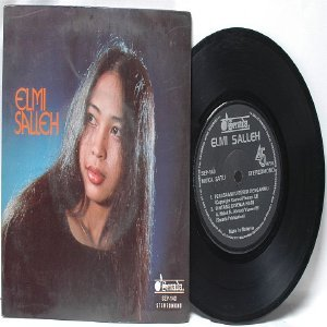 "Malay 70s Pop ELMI SALLEH 7"" PS EP"