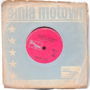 "MARVIN GAYE I Heard It Through The Grapevine NEW ZEALAND  7"" 45 RPM"