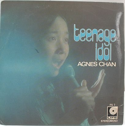 "AGNES CHAN Teenage Idol ASIAN POP SINGER 7"" PS"