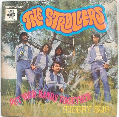 THE STROLLERS Midday Sun ASIA 60s PSYCH BAND 7""