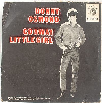 "DONNY OSMOND Cats MaRmaLAde ASIA 7"" EP PS 60s"