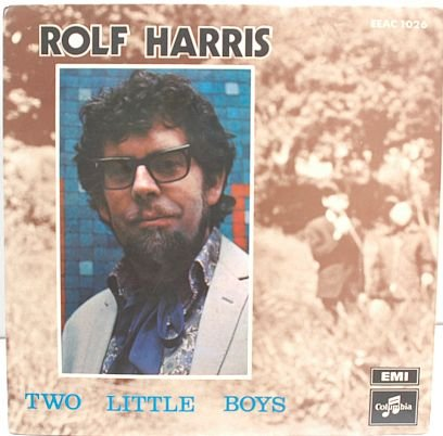 "ROLF HARRIS Two Little Boys MALAYSIA 7"" PS E.P. EMI"
