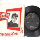 """ROCKY TEOH Jacqueline ASIAN ELVIS  7"""" 45 RPM PS EP"""