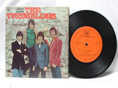 "THE TREMELOES Here Come INTERNATIONAL CBS 7"" 45 RPM PS EP"