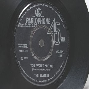 "BEATLES Michelle PARLOPHONE  Apple7"" 45 RPM  1966"