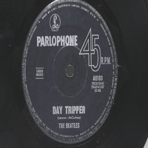 "BEATLES Day Tripper  Australia AUSSIE Oz 7"" 45 RPM"