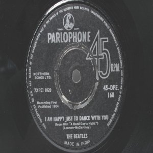 "BEATLES I Should Have Known Better PARLOPHONE India  7""   1964"