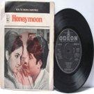 "BOLLYWOOD INDIAN  Honeymoon USHA KHANNA Kishore Kumar ASHA BHOSLE 7"" 45 RPM EMI odeonEP  1972"