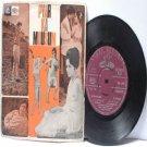 """BOLLYWOOD INDIAN  Pyar Ka Mousum RAHUL DEV BURMAN Lata Mangeshkar 7"""" 45 RPM EMI Angel EP 1968"""
