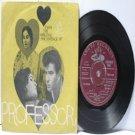 """BOLLYWOOD INDIAN Professor MOHD. RAFI  Lata Mangeshkar 7"""" 45 RPM EMI Angel EP 1962"""