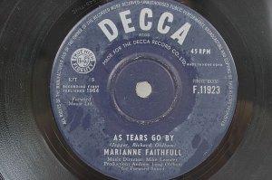 "ROLLING STONES Marianne Faithfull HONG KONG 1964 7"""