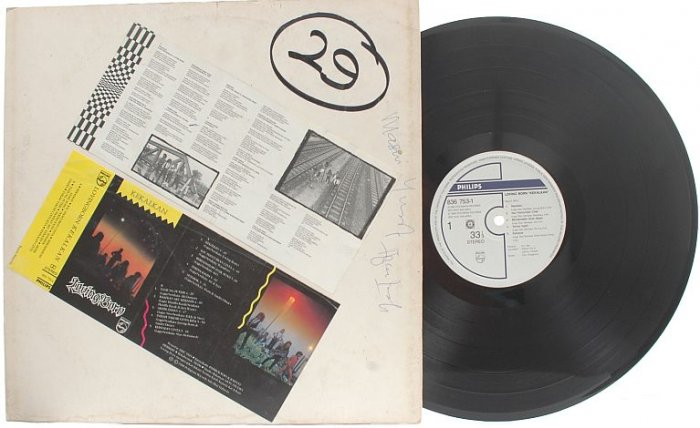 MALAY ROCK HEAVY METAL BAND Lovingborn 1988 PROMO LP