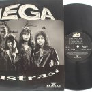 Rare MALAY ROCK HEAVY METAL Mega BAND AUTOGRAPHED LP