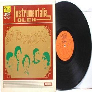 Malay Indon  70s Pop  Band DE-FICTIONS Instrumentalia Oleh LP Tatex TLP 1010