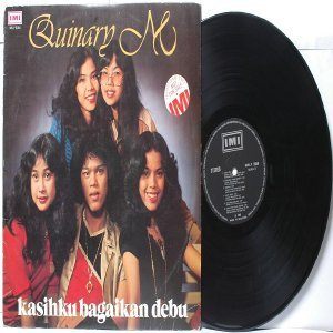 Malay  80s Pop  Girl Band QUINARY M Mazuin LP IMILP 3354